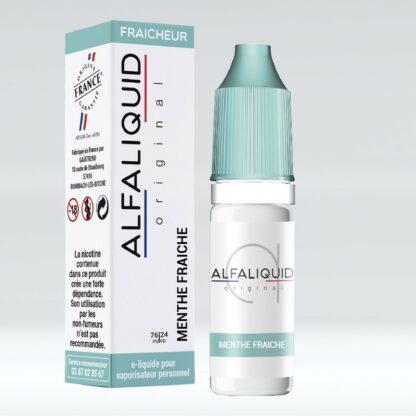Alfaliquid Menthe Fraiche 10ml