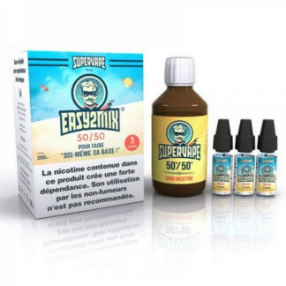 Kit Supervape Easy2mix Base + Boosters 200ml